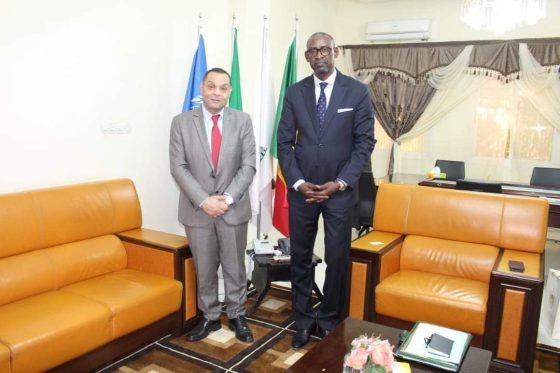 Le Ministre des Affaires étrangères, SEM Abdoulaye DIOP, a reçu, ce lundi 26 juillet, l'Ambassadeur du Palestine au Mali, SEM Hadi SHELBI.