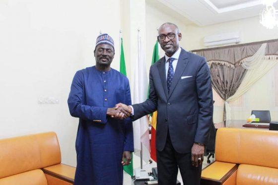 Le Ministre des Affaires étrangères et de la Coopération internationale, SEM Abdoulaye DIOP, a reçu, ce lundi 26 juillet, le Ministre des Affaires étrangères, de la Coopération internationale et des Gambiens de l'Extérieur, SEM Mamadou TANGARA, en visite officielle au Mali.