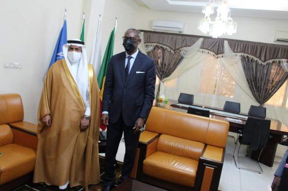 L'Ambassadeur du Royaume d'Arabie saoudite au Mali, SEM Khaled Mabruk Al-Khailed, a été reçu en audience, ce mardi 27 juillet, par le Ministre des Affaires étrangères et de la Coopération internationale, SEM Abdoulaye DIOP.