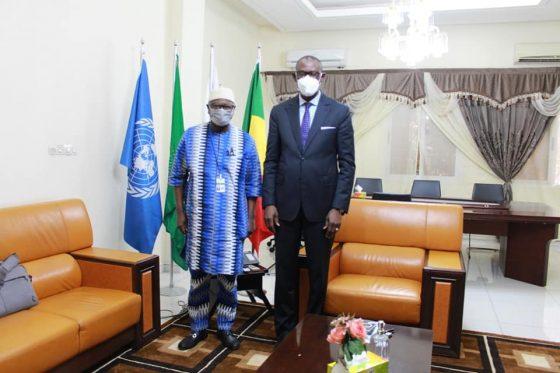 Le Ministre des Affaires étrangères et de la Coopération internationale, SEM Abdoulaye DIOP, a reçu en audience, ce vendredi 30 juillet, l'Expert indépendant de l'ONU sur les droits de l'homme au Mali, M Alioune TINE