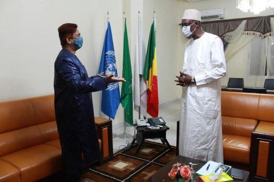 Le Ministre des Affaires étrangères et de la Coopération internationale SEM Abdoulaye DIOP reçoit l'ambassadeur d'Inde et l'Ambassadeur  du Royaume-Uni