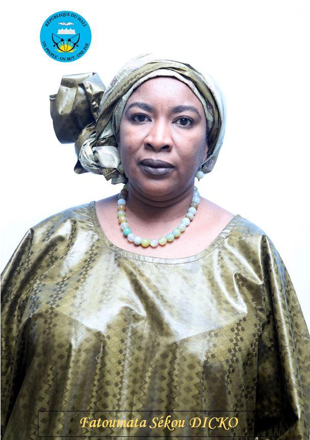 Mme Fatoumata Sékou Dicko