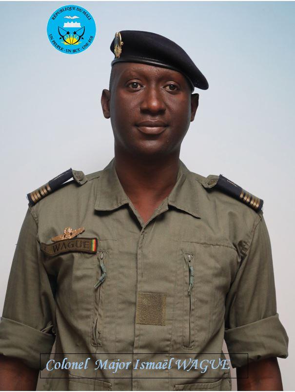 Col Major Ismaël Wagué