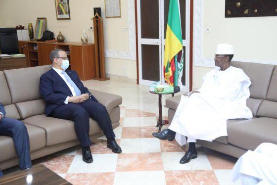 Coopération Mali-Mauritanie: le chef de la diplomatie mauritanienne reçu à la Primature