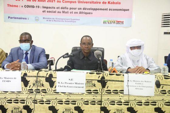 Le Premier ministre préside la cérémonie d'ouverture du 12ème Symposium malien sur les sciences appliquées